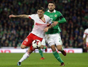 Швейцария сыграла вничью с Северной Ирландией и вышла на ЧМ-2018