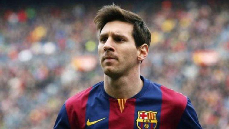 Арбитр не засчитал чистый гол Месси в матче с Валенсией