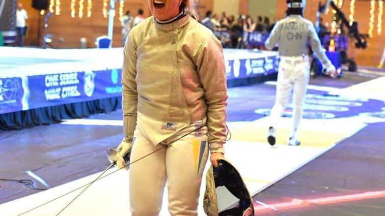 Украинская фехтовальщица завоевала «золото» Кубка мира