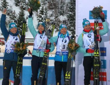 Три спортсменки представят Украину в первом масс-старте биатлонного сезона