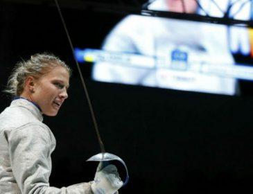 Тернополянка Елена Кривицкая заняла 6 место в мировом турнире по фехтованию на шпагах
