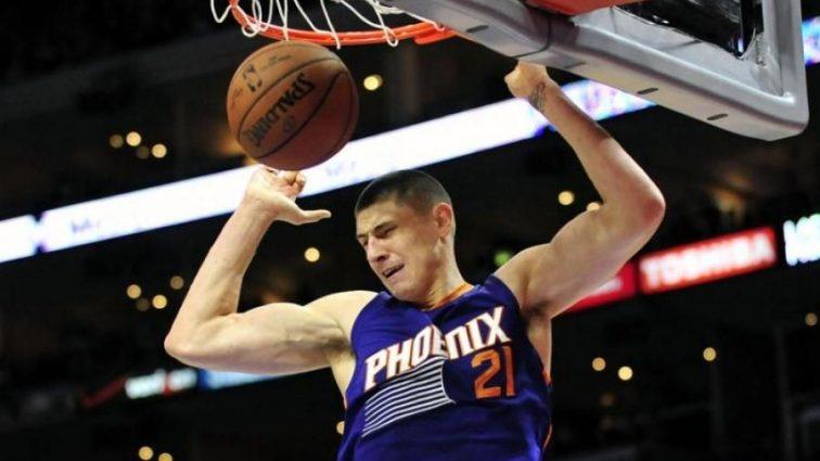НБА: Данк украинца Леня — в лучших моментах игрового дня