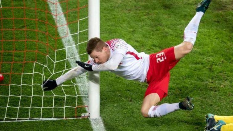 Футболист получил многочисленные переломы, когда забивал мяч в чемпионате Германии