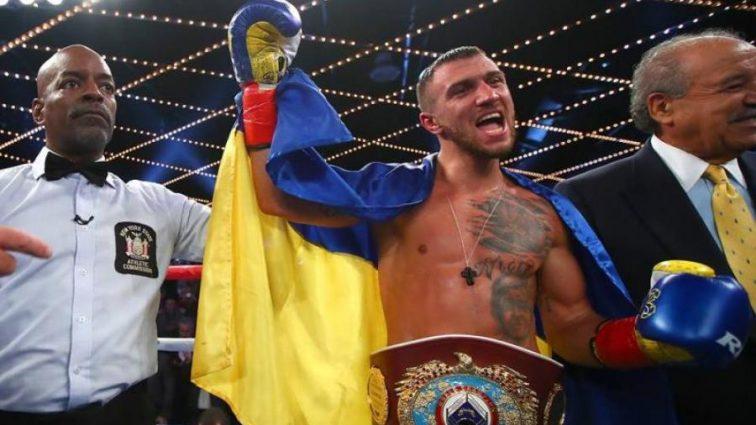 Беллью считает Ломаченко бойцом года