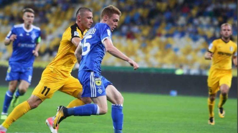 УПЛ: Динамо в меньшинстве потеряло очки с Александрией