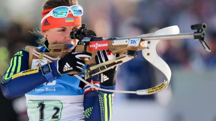 Украинская биатлонистка стала чемпионкой Европы в спринтерской гонке