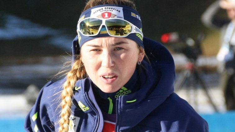 Украинцы заняли двенадцатое место в одиночной смешанной эстафете на чемпионате Европы