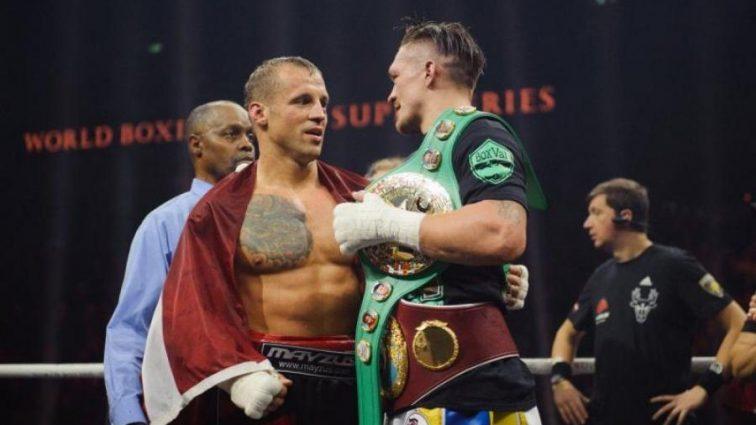 Другой уровень: Усик получил признание звездного боксера