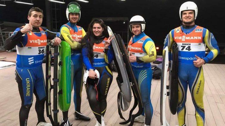Пятеро саночников представят Украину на Олимпиаде-2018