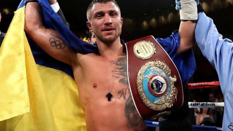 Боксер VS борец: Ломаченко бросил в прогиб Беленюка