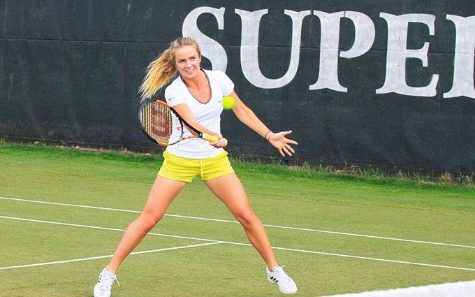 Лучшая теннисистка Украины начала новый сезон с победы