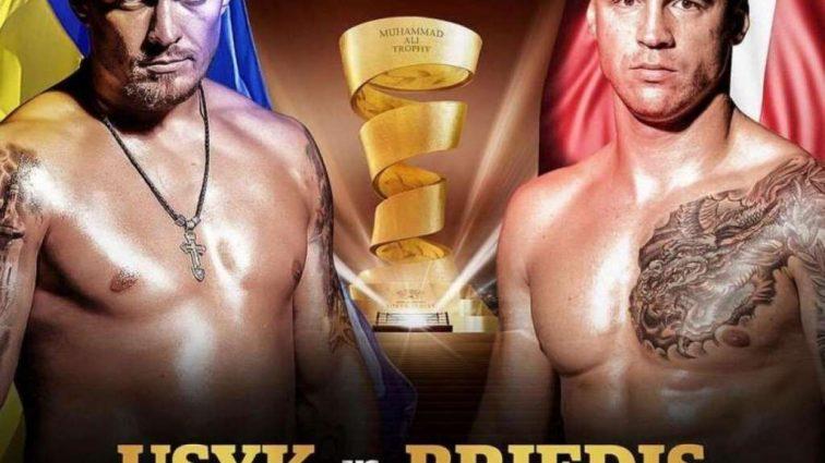 Усик перевесил Бриедиса накануне полуфинала Всемирной боксерской серии