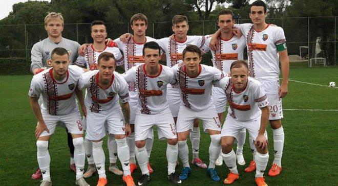 «Черкасский Днепр» сыграл вничью товарищеский матч против «Арсенала»