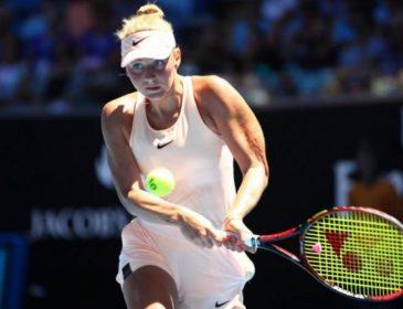 Молодая украинская теннисистка одержала фантастическую победу