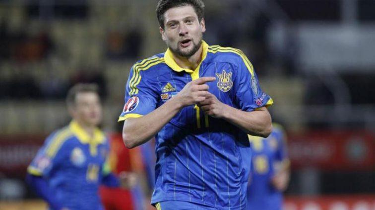 Форварда сборной Украины полгода держали на голодном пайке