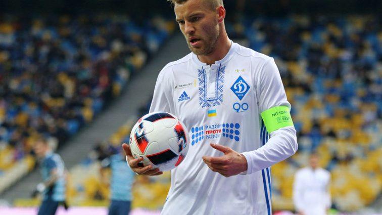 Команда Ярмоленко победила в матче двух «Боруссий»