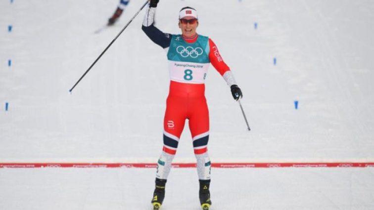 Одиннадцатая медаль: норвежская лыжница установила рекорд
