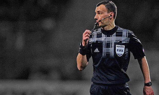 АЕК — Динамо: известны арбитры матча Лиги Европы