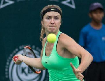 Свитолина выступит с легендами тенниса