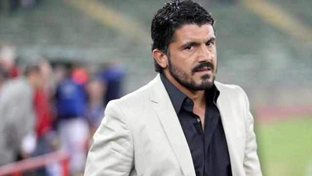 Непредсказуемый Гаттузо: одиозный тренер сравнил Милан с Брэдом Питтом и своей бородой