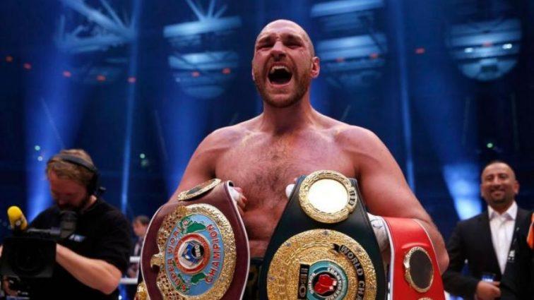 Фьюри объявил дату возвращения в бокс