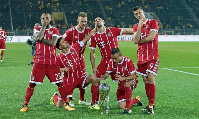 Бавария проиграла мадридцам