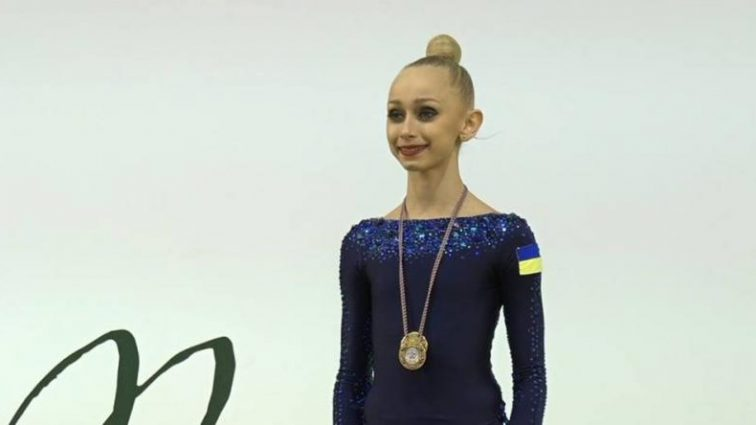 Новая Дерюгина: юная украинка показала класс на Кубке мира в Италии