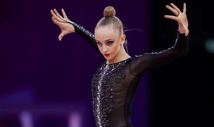 Украинская спортсменка завоевала серебряную медаль на Кубке мира по художественной гимнастике