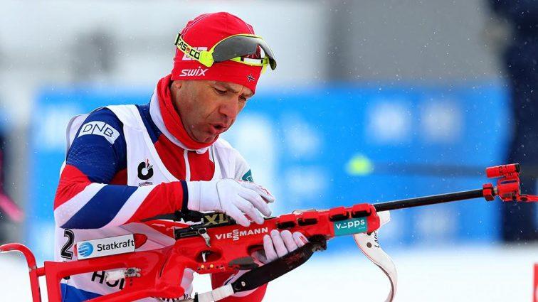 Король биатлона Бьорндален завершил карьеру