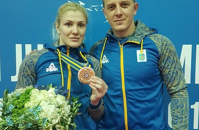 Украинская спортсменка завоевала медаль на чемпионате Европы по дзюдо