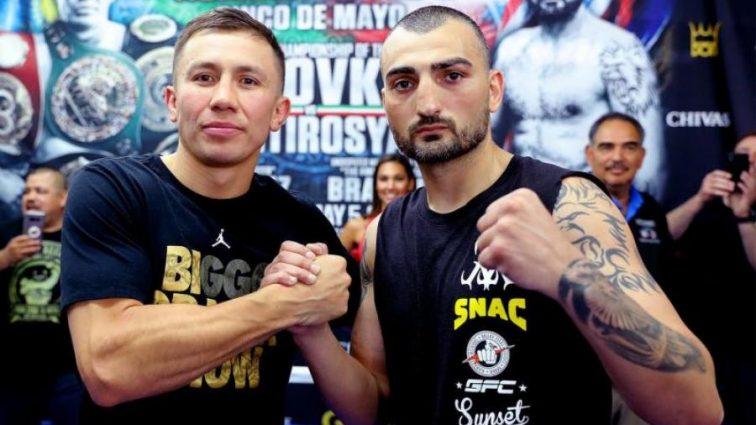 На кону боя Головкин — Мартиросян будет уникальный пояс WBC