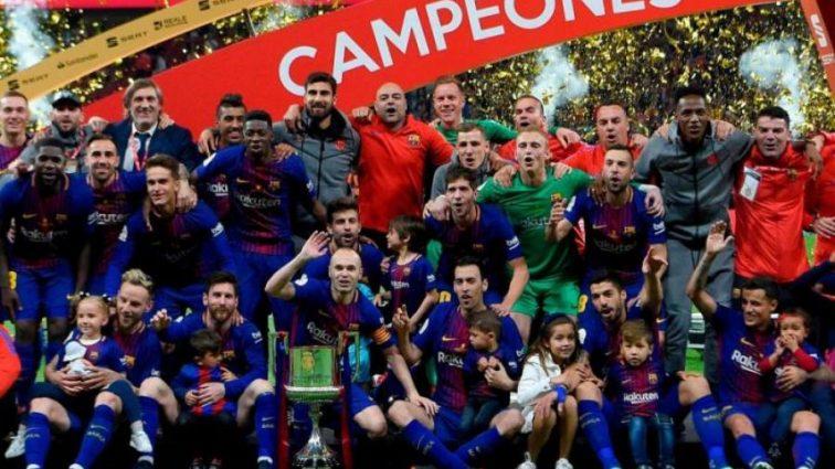 Барселона выиграла первый трофей в сезоне