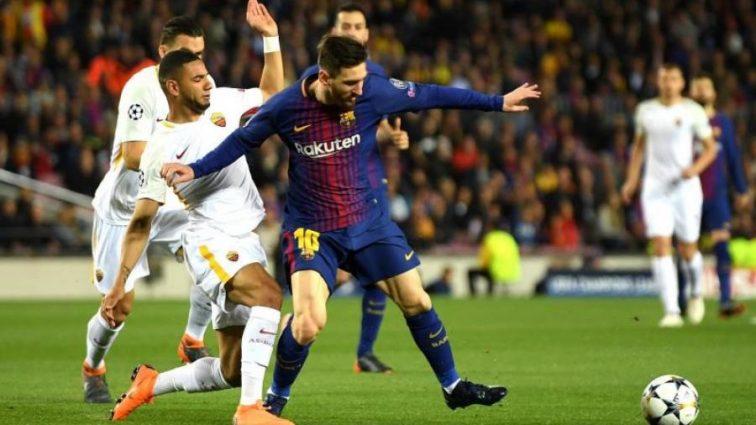 Рома забила три гола на «Камп Ноу», но Барселона почти в полуфинале ЛЧ