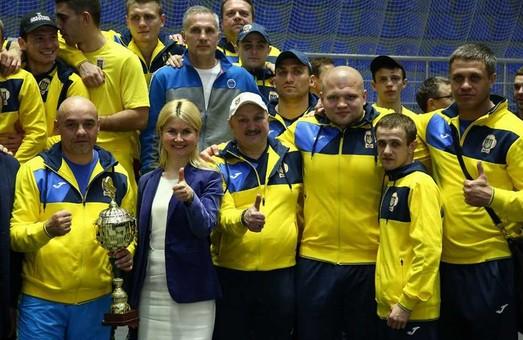 Украинская сборная по боксу одержала победу в международной встрече