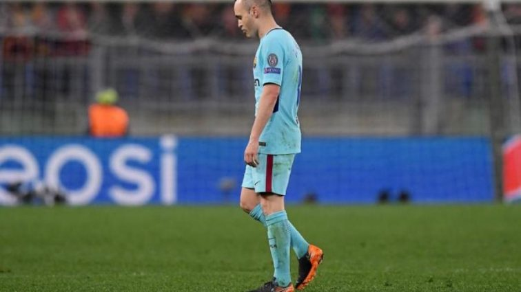 Звезда Барселоны хочет бросить команду после позора в Риме