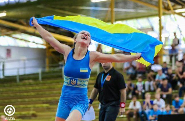 Украина завоевала первую медаль на чемпионате Европе