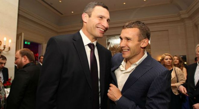 Как Шевченко и Кличко вместе играли в гольф