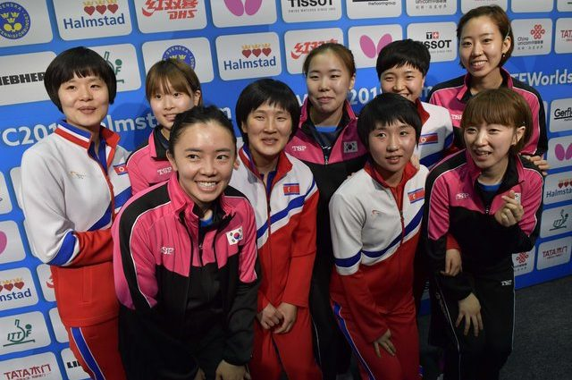 Уникальный случай: спортсмены из Южной Кореи и КНДР объявили перемирие