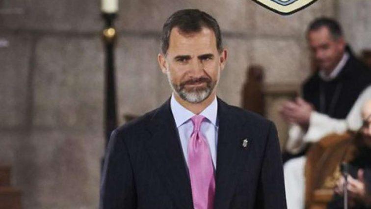 Король Испании прилетел в Киев на финал Лиги Чемпионов