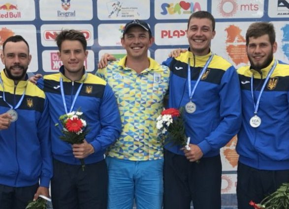 Украинцы уверенно завоевывают медали ЧЕ в Сербии