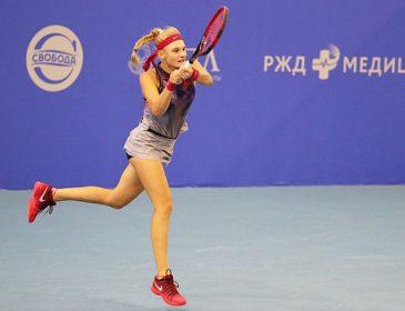 Юная украинская теннисистка направляется в финал «стотысячника», разбив русскую