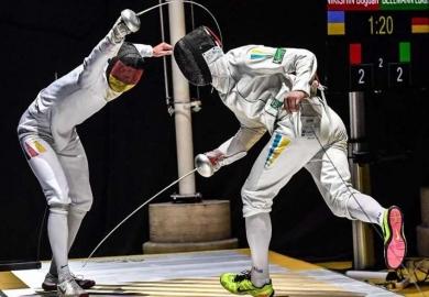 Украинский фехтовальщик завоевал бронзу на чемпионате Европы