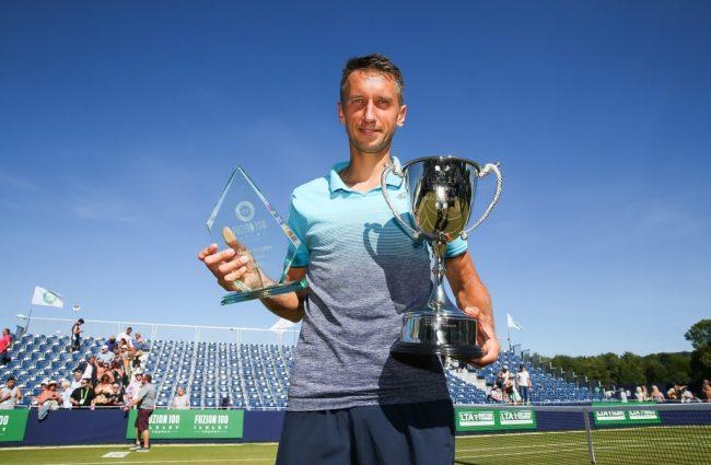 Украинский теннисист обыграл немца и пообещал побить рекорд