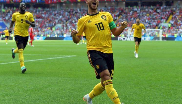 Бельгия разгромила Тунис и автоматически вышла в 1/8 финала