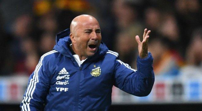 Главный тренер сборной Аргентины Сампаоли попал в серьезный скандал