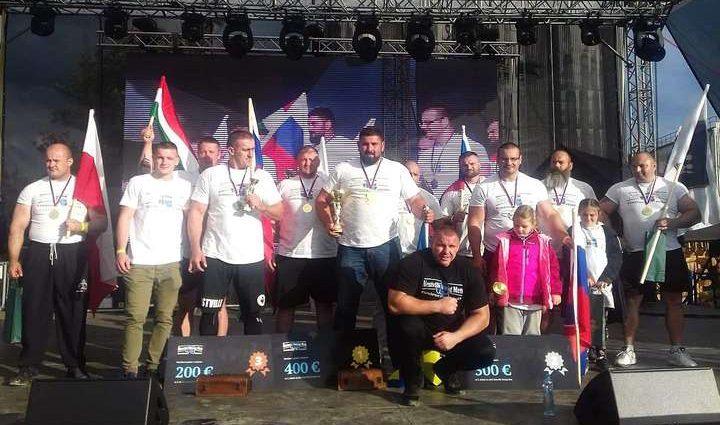 Украинский стронгмен оказался сильнейшим на соревнованиях в Словении