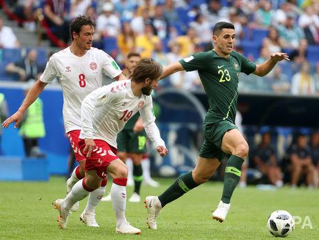 ЧМ-2018: Дания и Австралия. Результаты игры