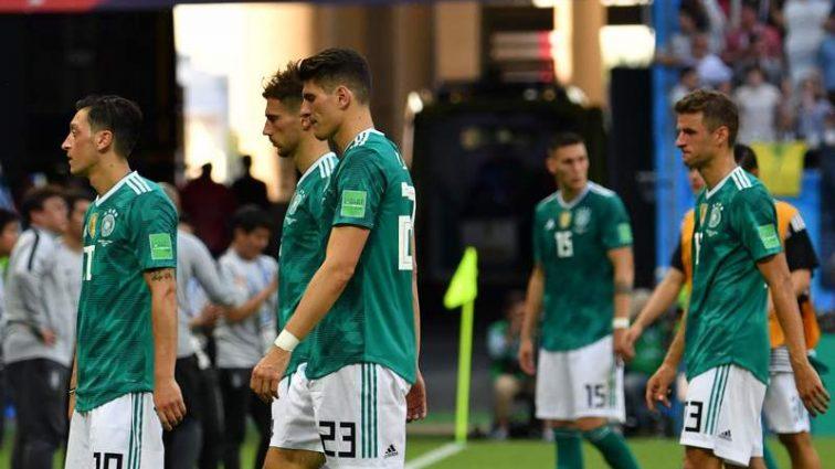 «Настоящая сенсация» Сборная Германии впервые в истории не смогла выйти из группы