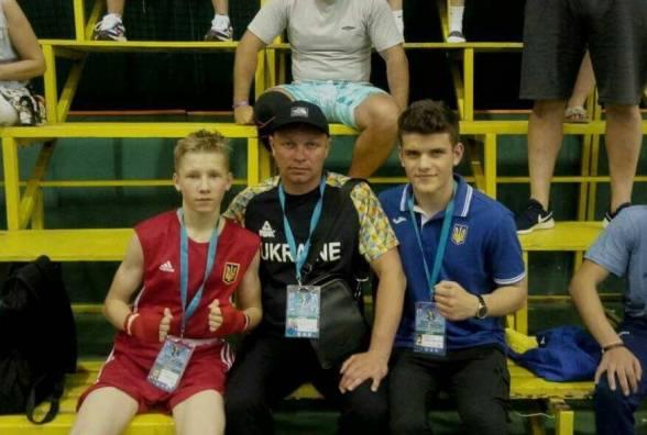 Тернополяне взяли три «бронзы» на чемпионате Европы по боксу