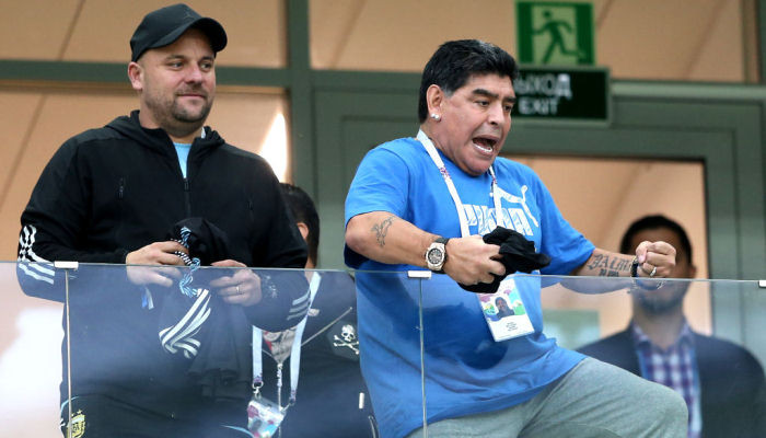 Диего Марадона бросил вызов игрокам сборной Аргентины